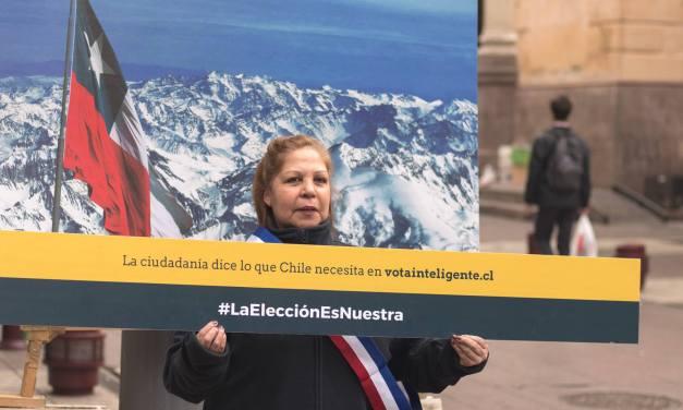 #LaElecciónEsNuestra: las propuestas ciudadanas llegan a la elección presidencial chilena