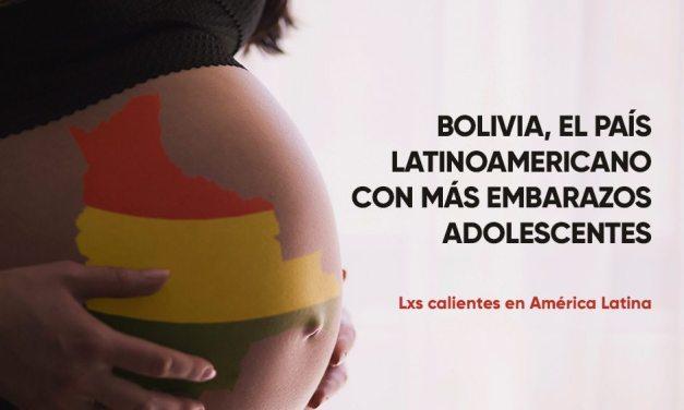 Bolivia, el país latinoamericano con más embarazos adolescentes