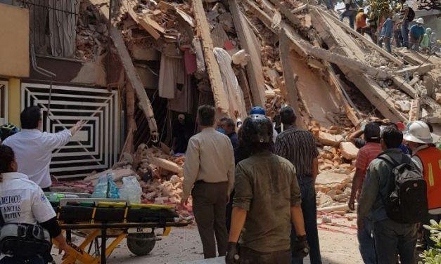 Terremoto de magnitud 7.1 grados en  México: 32 años después, la historia se repite.