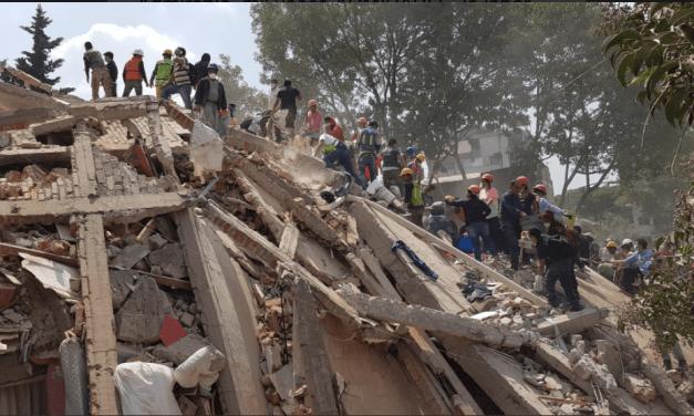 Ubicación de áreas críticas tras temblor en Ciudad de México (MAPA)