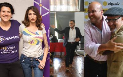 Lesbianas, gays y mujer trans van por diputaciones y vicepresidencia en elecciones de Costa Rica 2018