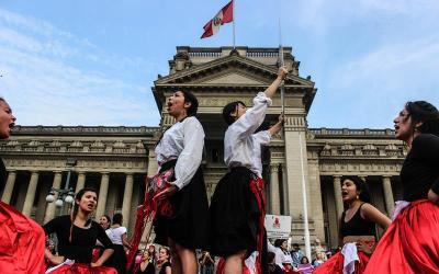 """""""Nada ha cambiado: Volvemos a las calles"""": el grito de las mujeres en Perú"""