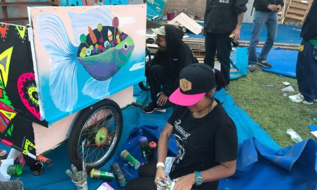 Pimp my Carroça celebró el trabajo de los recicladores a través del arte y la cultura