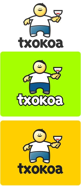 Variantes finales para la creación de un logo