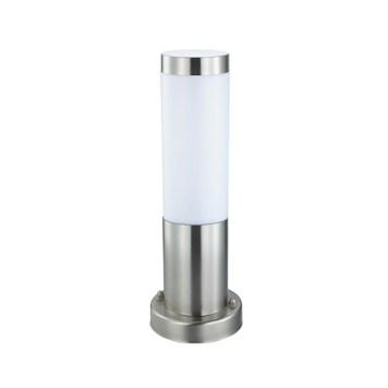Borne Defne-3 inoxydable 60W (Eq. 12W FLC et 8W LED) Dim. 325x76mm