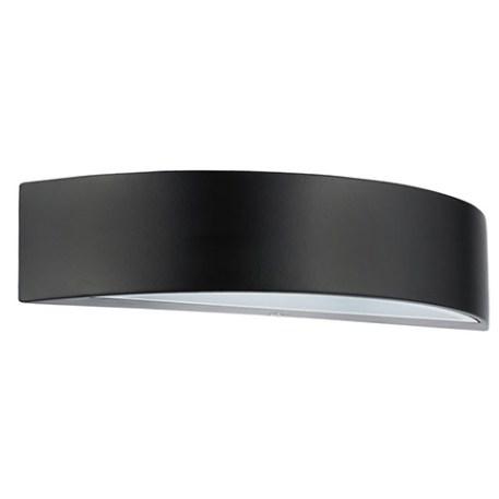 Applique LED aluminium demie-lune 5.5W (Eq. 50W) Dim. 300x90x65mm