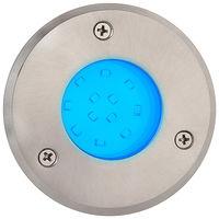 spot led encastarble ext rond bleu ip67 1.2w