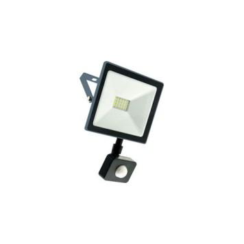 Projecteur LED extra plat avec détecteur 20W IP44 2000 Lms 6000K INDUS Dim.140x120x25mm