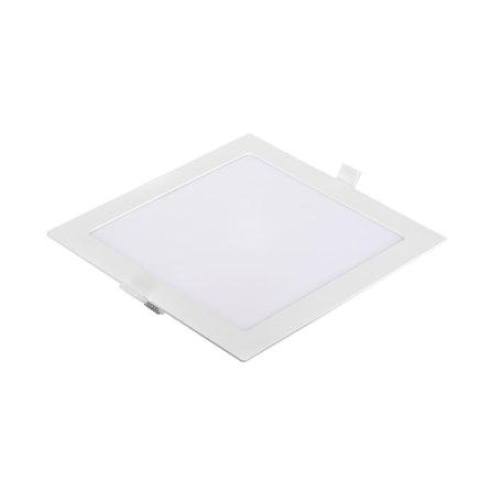 Dalle LED slim Panasonic carré 18W 6500K Dim 225x225mm