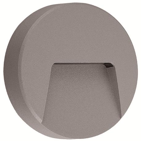Applique murale ronde LED 3W IP65 Diam. 135mm