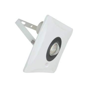 Projecteur LED extra plat 30W IP65 3000 Lumens 6000K YUKON-S avec détecteur Dim. 215x185x76.3mm