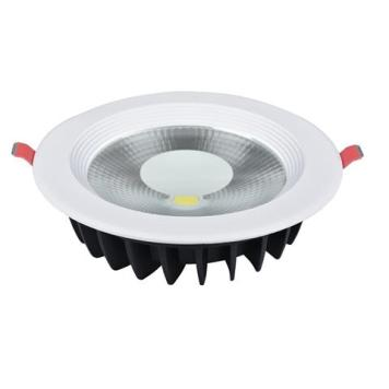 Spot COB LED downlight rond blanc 20W (Eq. 160W) Diam 195mm
