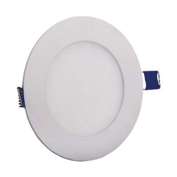 Dalle LED ronde extra plate 3W 6000K