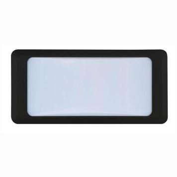 Hublot LED 12W noir pour éclairer l'extérieur de la maison