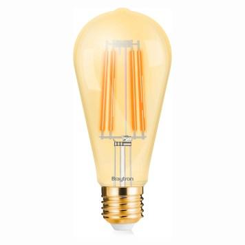 Ampoule LED ST64 filament 6W E27 2200K Dimmable