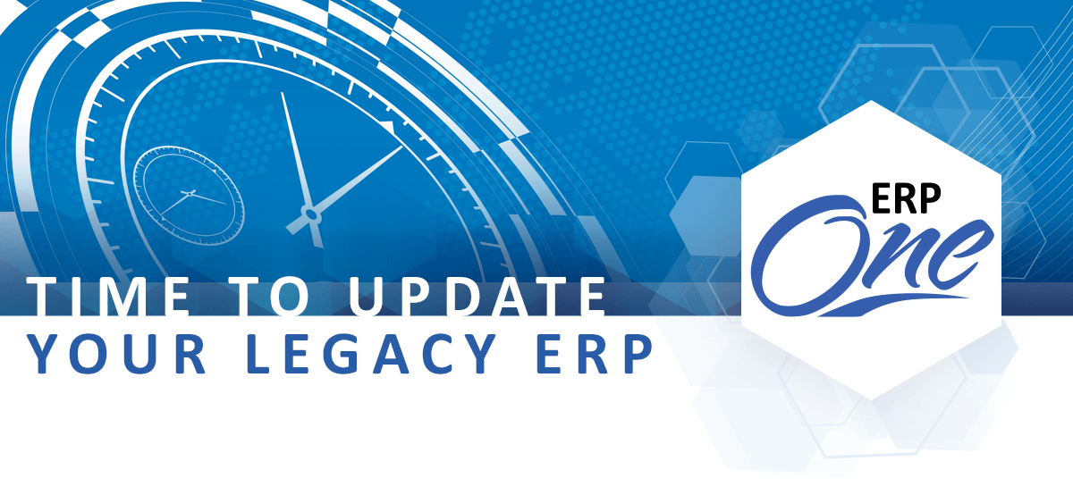 erp software legacy software update distribution one