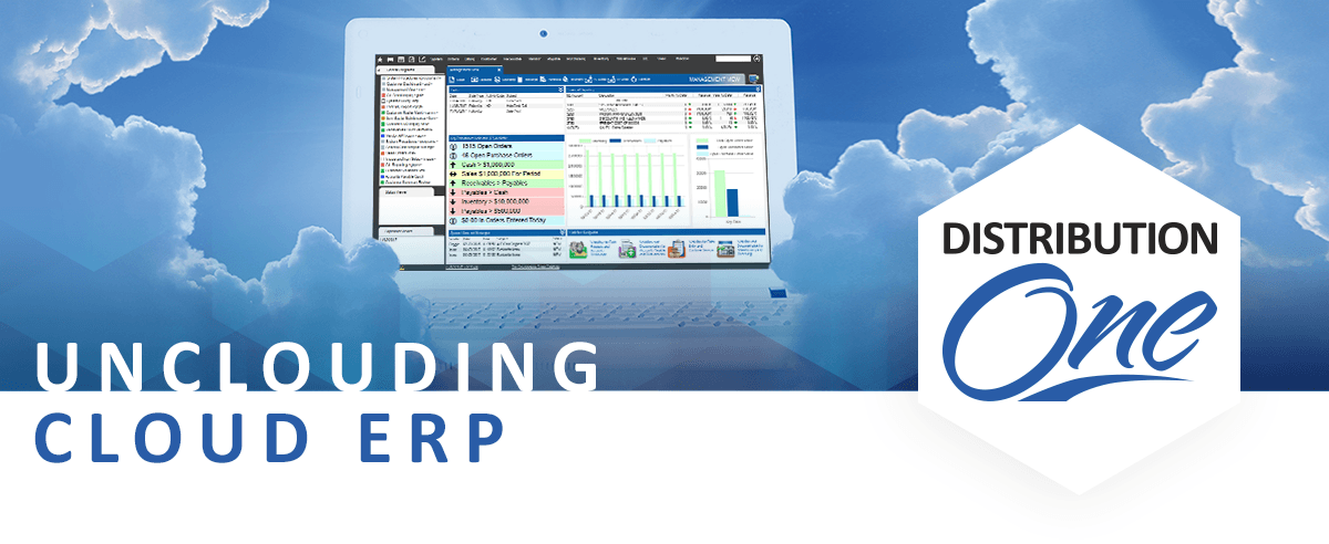 cloud erp software distribution one