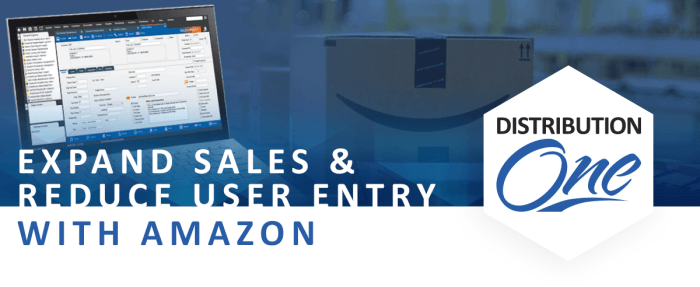 Amazon integration for distributors reduces manual entry
