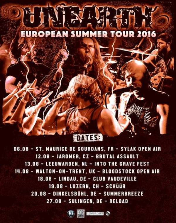 Unearth Live 2016