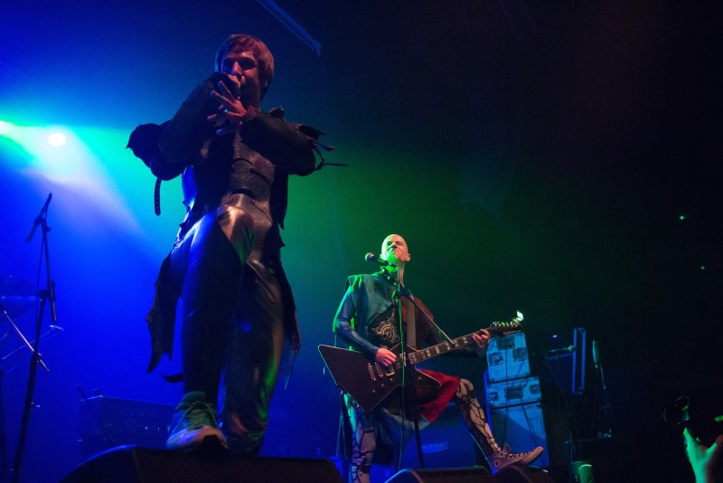 Gloryhammer live @ The Ritz, Manchester. Photo Credit: Christopher Ryan