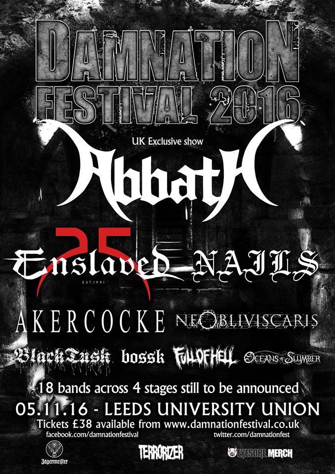 Damnation Festival 2016