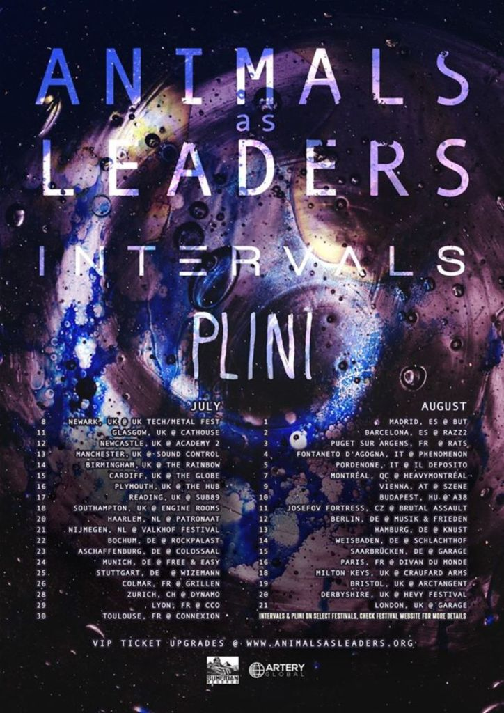 Animals As Leaders European Tour 2016