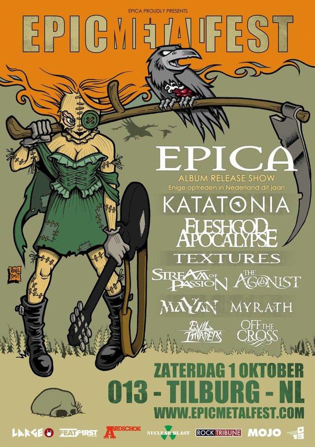 Epic Metal Fest 2016 Poster