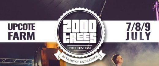 2000 Trees Festival - Banner
