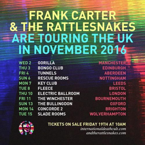 Frank Carter & The Rattlesnakes