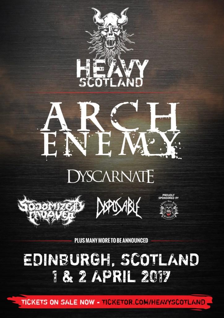 Heavy Scotland 2016