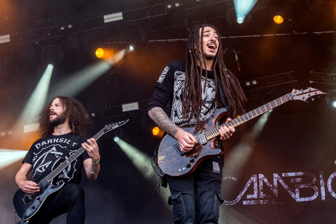 Cambion live at Bloodstock Festival 2016. Photo Credit: Sabrina Ramdoyal