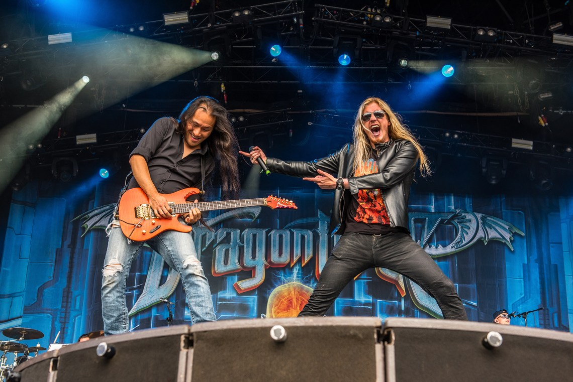 Dragonforce live at Bloodstock Festival 2016. Photo Credit: Sabrina Ramdoyal