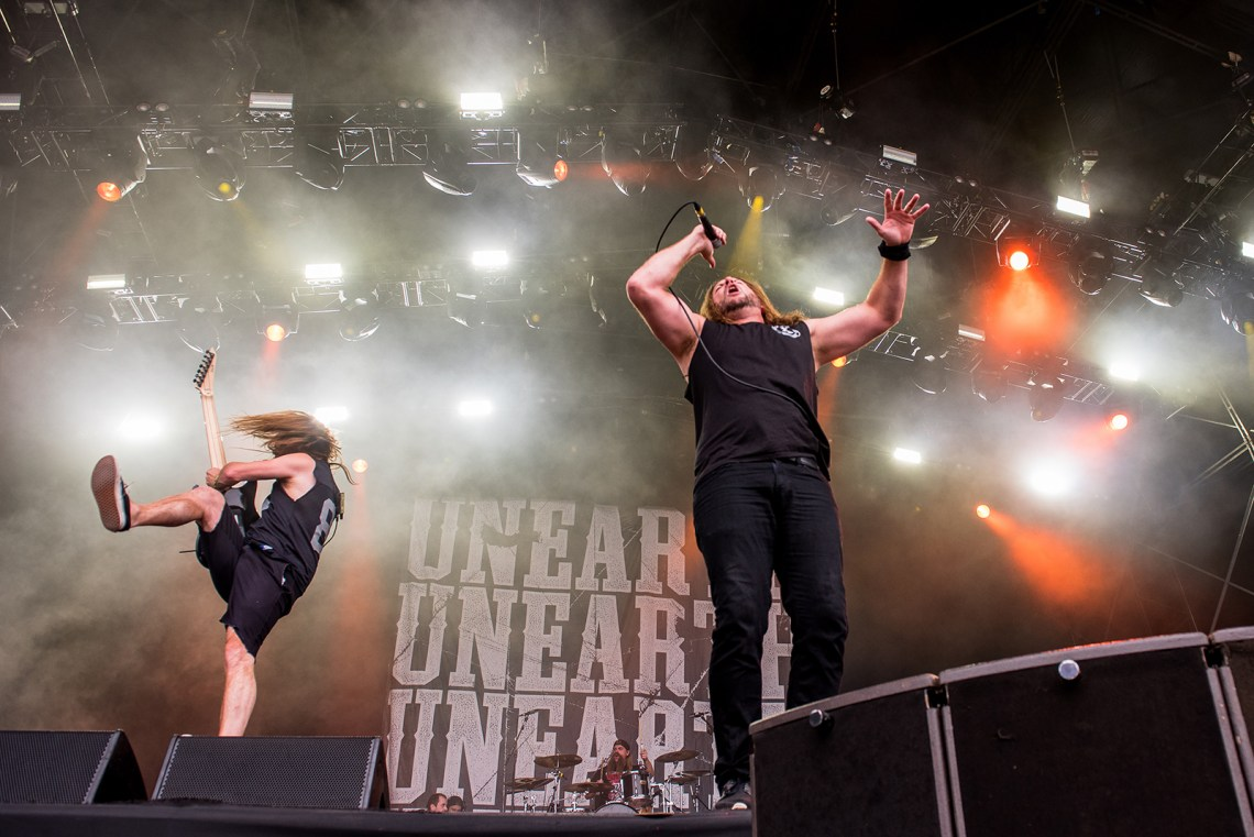 Unearth live at Bloodstock Festival 2016. Photo Credit: Sabrina Ramdoyal