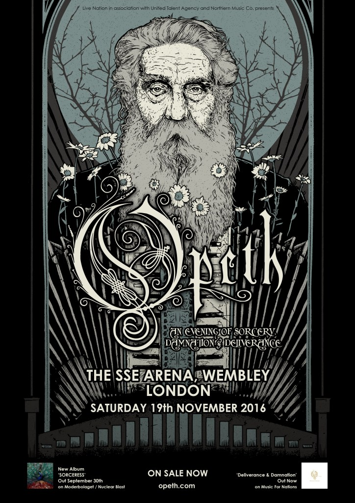 Opeth Wembley