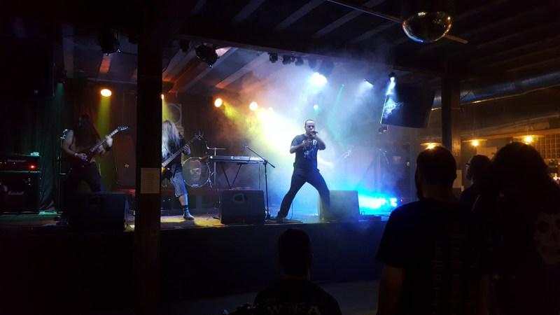 NekroDrako live - A Blaze In The Northwestern Sky, Manchester