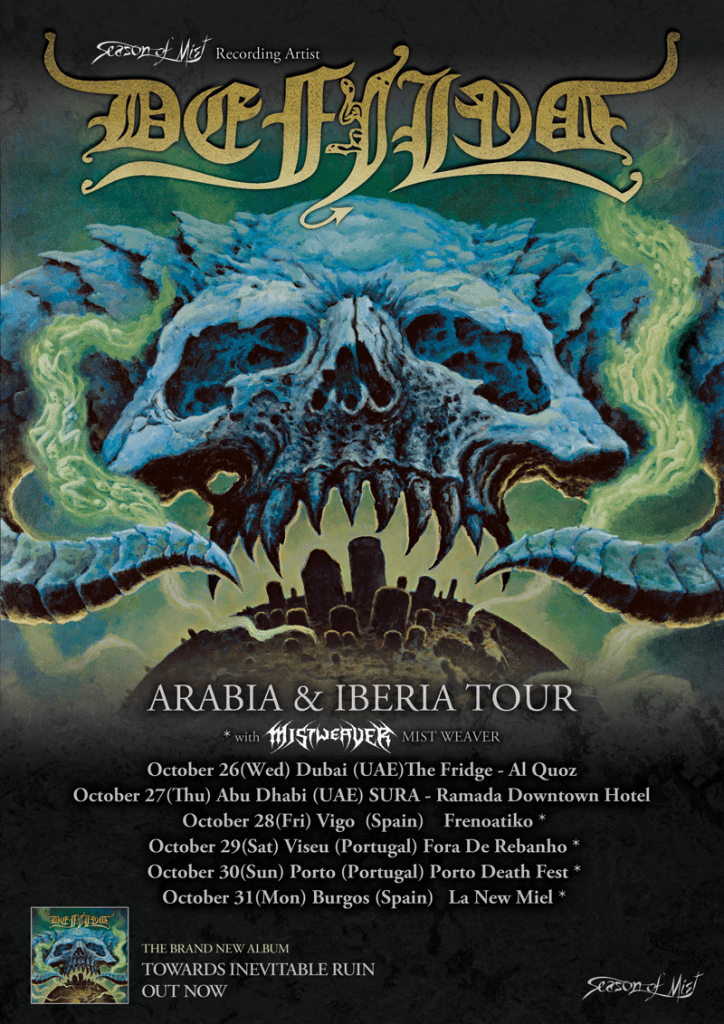 Defiled Arabia and Iberia Tour 2016