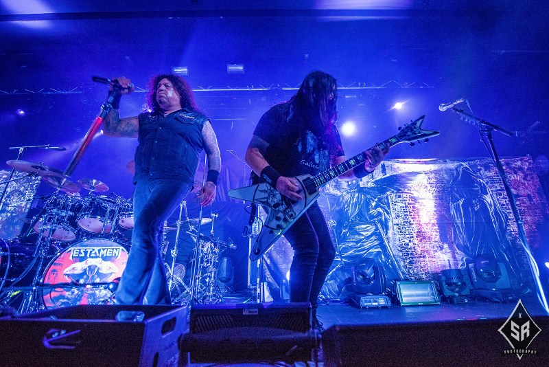 Testament live @ Academy, Manchester. Photo Credit: Sabrina Ramdoyal Photography