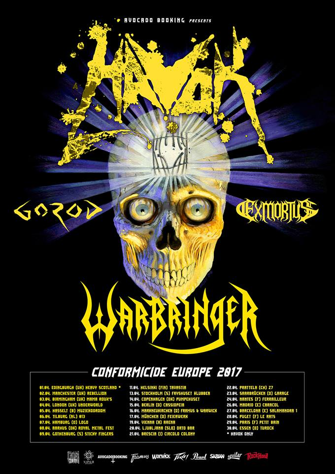 Havok European Tour 2017