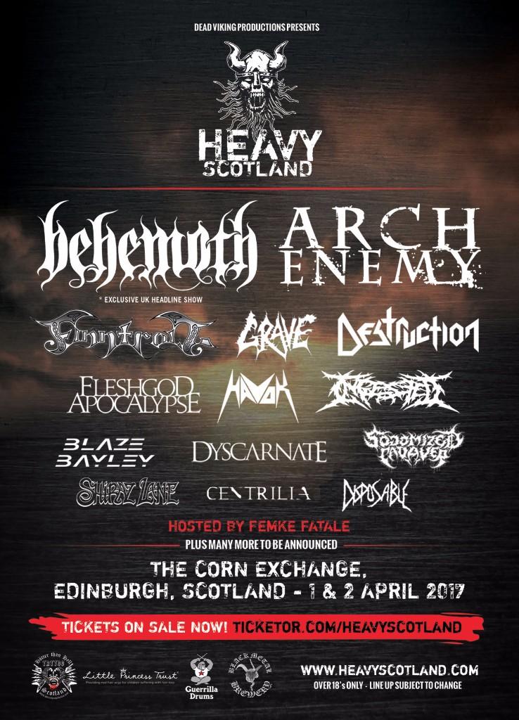 Heavy Scotland Current Lineup