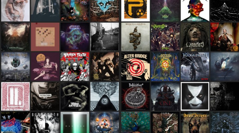 Distorted Sound Albums of the Year 2016
