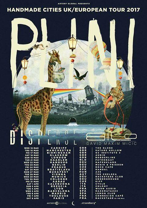 Plini EU tour 2017