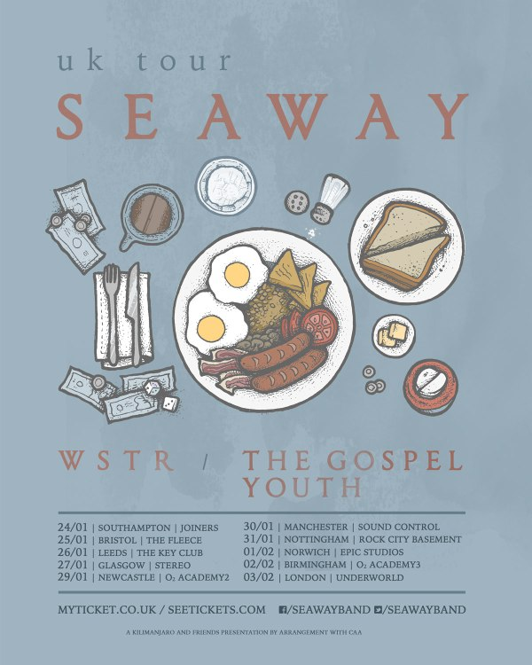 Seaway headline UK tour