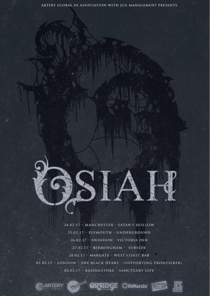 Osiah UK tour 2017
