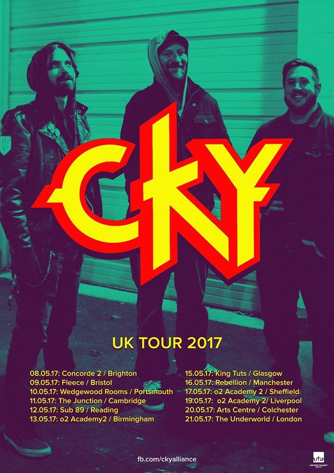 CKY UK Tour 2017