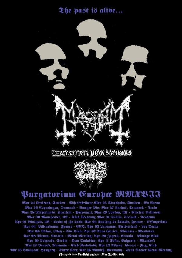 Mayhem EU Tour