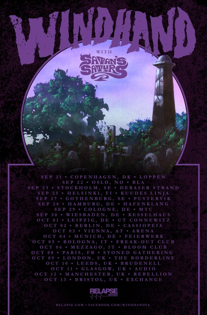 Windhand European Tour