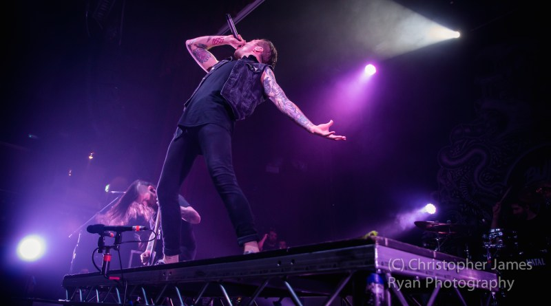 Bury Tomorrow live @ The Ritz, Manchester. Photo Credit: Christopher Ryan Photography