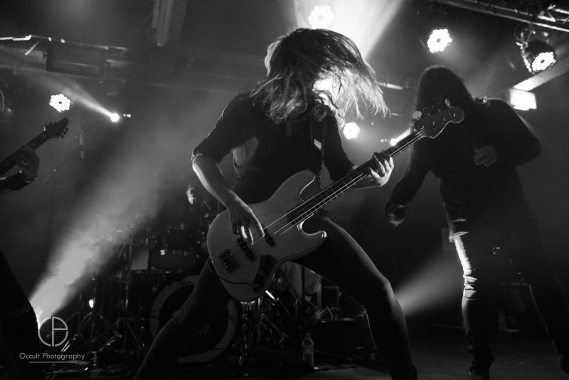 Katatonia live @ Sound Control, Manchester. Photo Credit: Occult Photography