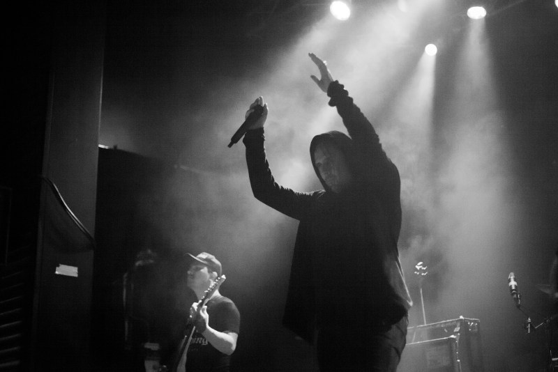 Thy Art Is Murder live @ Impericon Festival. Photo Credit: Rebecca Callaghan Photography