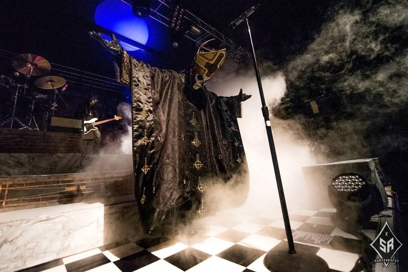 Ghost live @ 02 Academy, Birmingham. Photo Credit: Sabrina Ramdoyal Photography